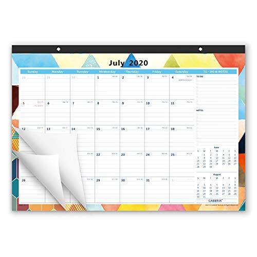Academic Year Desk Calendar 2020-2021,17 x 12