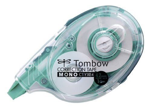 Tombow 307058 - Cinta correctora recargable 4.2 mm x 16 m