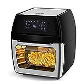 KitCook Large Air Fryer, 12.7 Quart Air Fryer Oven,Multi-Use Air Fryer for Rotisserie, Roast, Broil, Bake, Reheat & Dehydrate,1700-Watt