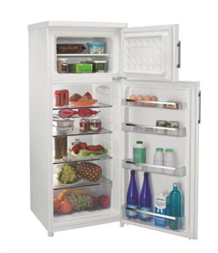 Candy CCDS 5142 WH Ccds5142Wh Réfrigérateur à 2 portes avec étagères en verre