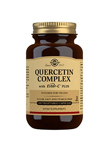 Solgar Quercetin Complex Vegetable Capsules - Pack of 100