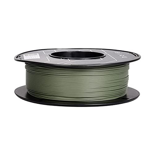 BIQU PLA 3D Printer Filament 1.75mm Modiran Series Matte Olive Green Dimensional Accuracy +/- 0.03 mm 1KG Spool Fit Most 3D FDM Printers