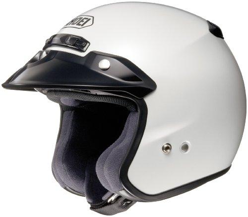 Shoei RJ Platinum-R Helmet (X-Small) (Crystal White)