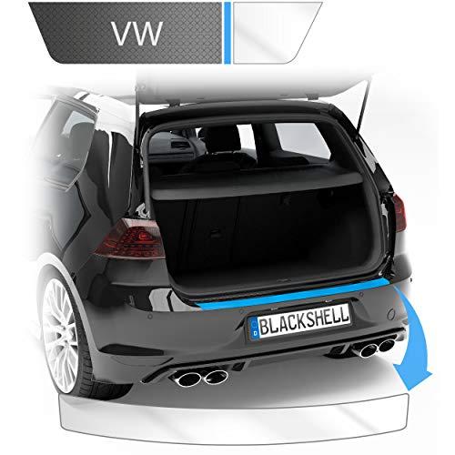 Blackshell® Ladekantenschutz Folie inkl. Premium Rakel passend für Golf 7 Limousine | Typ AU | Bj. 2012-2019 Transparent - passgenaue Lackschutzfolie
