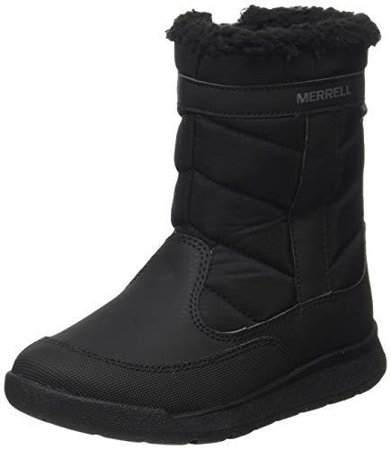 Merrell Alpine Puffer Boot WTRPF, Zapatillas para Caminar Unisex niños