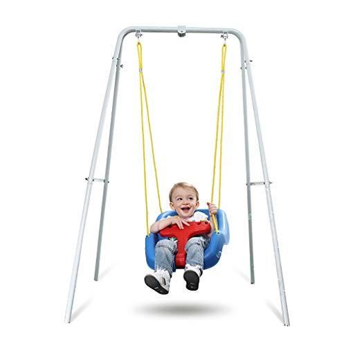 Chiodr Jumper Bebe Sauteur de Porte Balancelle siège de bébé de Remise en Forme en Rack avec Support intérieur et extérieur, Parc d'attractions Jouets for Les Enfants, 130 * 110 * 150cm