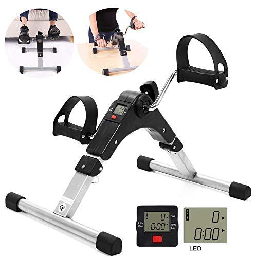 PA Mini Heimtrainer, Heimgebrauch Heimtrainer Pedal Trainingsgerät Beintrainer Arm & Brust Trainer Pedaltrainer für Zu Hause