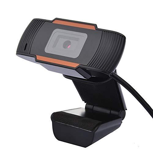 MXLTiandao Webcam 1080P Webcam con micrófono PC de Escritorio del Ordenador portátil USB 2.0 Full HD de la cámara Web for videollamadas Estudiar Conferencia (Color : 1080, Size : Gratis)