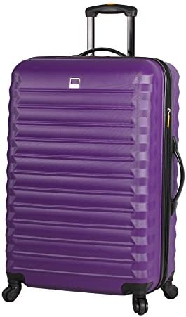 Lucas Treadlight Checked Luggage Collection 28 Inch Scratch Resistant ABS PC Hard Case Bag Ultra product image