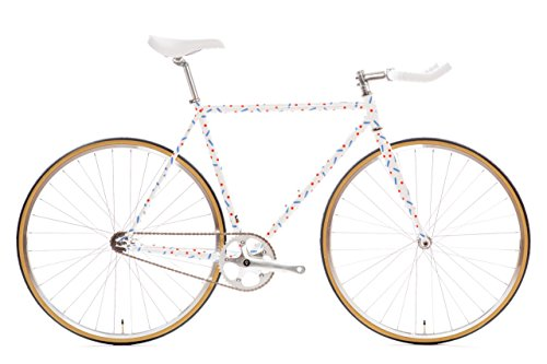 Lowest Prices! State Bicycle 4130 Steel - Pardi B | Double Butted Grade Chromoly Steel - Fixed Gear/...