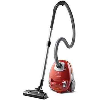 Electrolux ErgoSpace Classic – Aspirador compacto con bolsa y cepillo Parketto Pro, color rojo: Amazon.es: Hogar