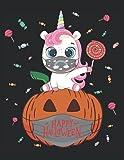 Süßes Einhorn Maske Kürbis Mundschutz Halloween Cute Unicorn Saures: ANTI STRESS MALBUCH - Mandalas - Lustiges Einhorn Halloween Oktober Geschenk - A4 ... Vorlagen - Antistress - Entspannen - Ausmale