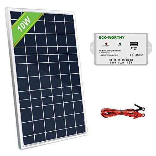 12v solar panel 10w - 5
