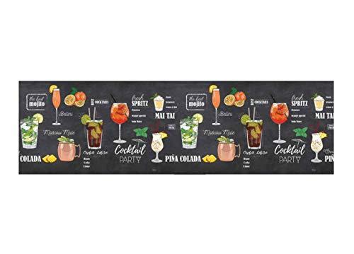 BiancheriaWeb Tappeto Passatoia Cucina Antiscivolo Stampa Digitale Sprinty Dis. Pub 50x180 Pub