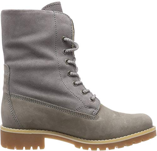 Tamaris Damen 26443-21 Combat Boots, Grau (Light Grey 254), 38 EU
