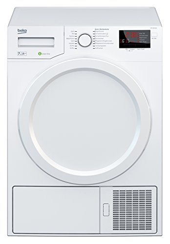 Beko DPS 7405 W3 Wärmepumpentrockner/A++/7kg/Multifunktionsdisplay/Aquawave-Schontrommel/Express-Programm/FlexySense Sensortechnologie/Automatischer Knitterschutz