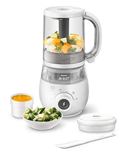 Philips Avent SCF883/01 EasyPappa Plus 4 in 1...