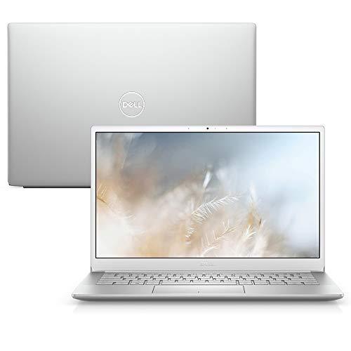 Notebook Ultraportátil Dell Inspiron i13-7391-M30S 10ª Geração Intel Core i7 8GB 512GB SSD Placa de vídeo NVIDIA GeForce® FHD 13.3' Windows 10 Prata