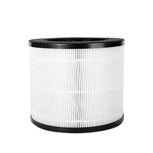 Himox Filtro de repuesto para purificador de aire H08 grado médico H13 True HEPA y filtros de carbón activado para polvo, humo, polen, caspa de mascotas