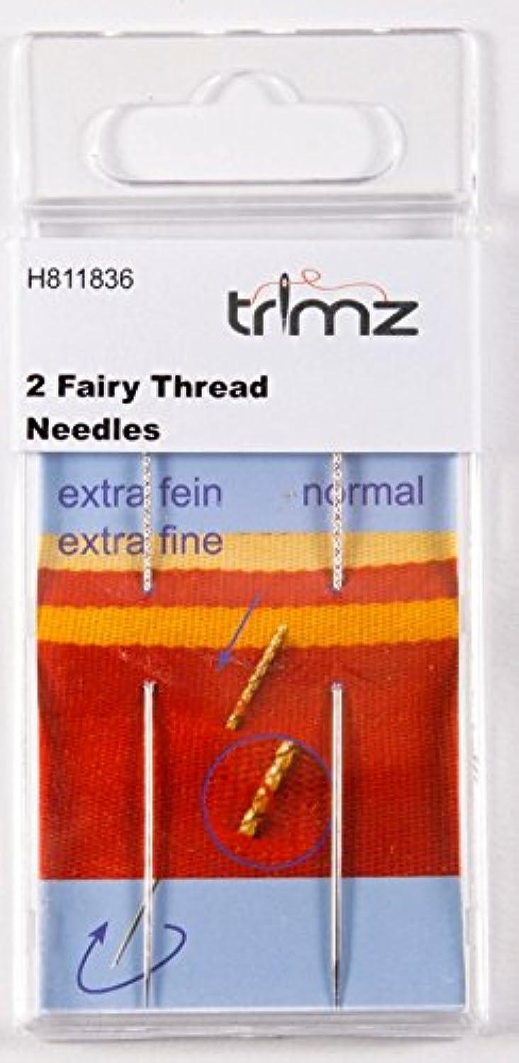 TSL 2 x Snag Wizard Needles, Metal, Silver, 10.5 x 5 x 0.5 cm