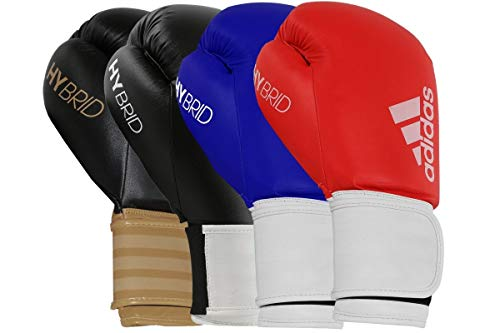 adidas Boxing Gloves Men Women Kids Sparring Training Hybrid 100 6oz 8oz...