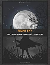 Coloring Book & Poster Collection: Night Sky Megumin めぐみん Is One Of Second Female Protagon Anime & Manga