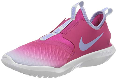 Nike Flex Runner (PS), Scarpe da Corsa, Fireberry/Purple Pulse-Football Grey-White, 35 EU