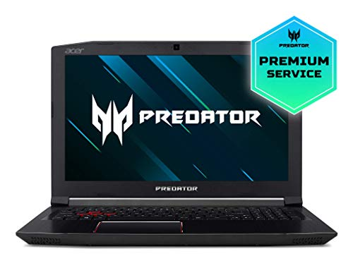 "Acer Predator Helios 300 NH.Q3FEB.012 - Ordenador portátil de 15.6"" FullHD IPS LED (Intel Core i5-8300H, 8GB RAM, 1TB HDD + 128GB SSD, Nvidia GTX 1060 6GB, Windows 10 Home) - Teclado QWERTY Español"
