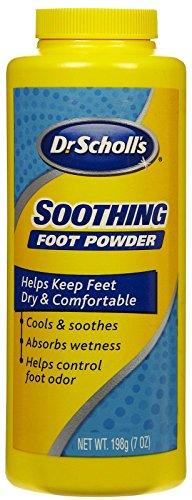 Dr. Scholl's Original Polvo de pie enfría y calma, 7oz