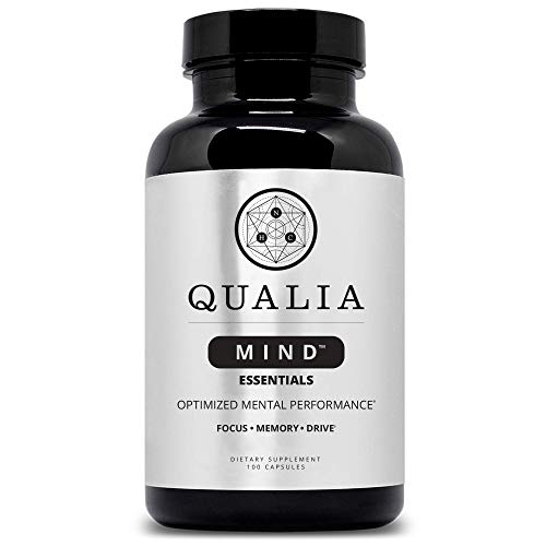 Qualia Focus Nootropic | The Brain Supplement for On-Demand Focus - Promoting Memory, Clarity and Energy with Huperzine A, Celastrus, Bacopa Monnieri, Rhodiola Rosea, Ginkgo Biloba & More