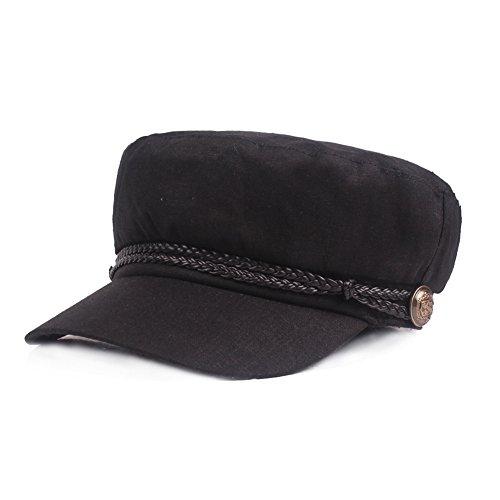 Gysad Gorra Marinero Mujer Vintage Sombrero Hombre Algodón...