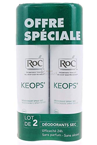 RoC Keops Dry Spray Deodorant 2x150ml