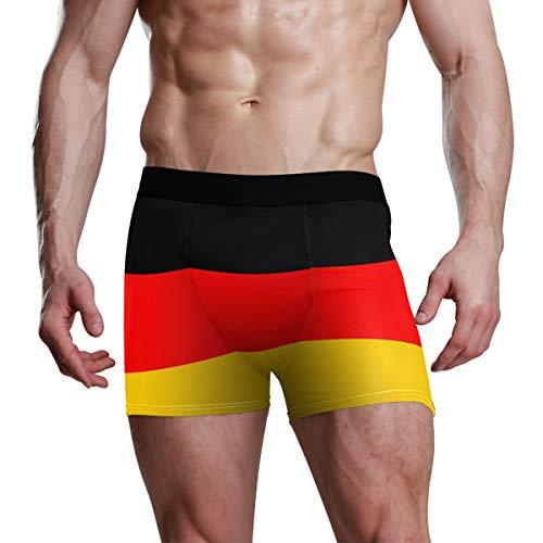 FANTAZIO Herren Boxershorts, Flagge Deutschlands Gr. Large, 1