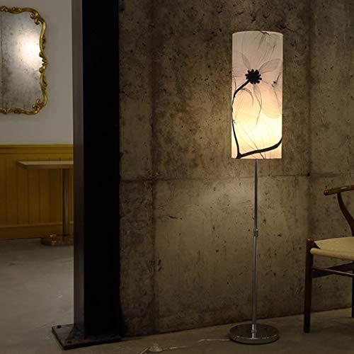 GQQ Stehleuchte, Stehlampen, Led-Hebebühne Stehlampe, Schlafzimmer Wohnzimmer Kreative Retro-Studie Vorlesungsleuchte, Einfache Moderne Nachttisch Augenpflege Vertikale Stehleuchte