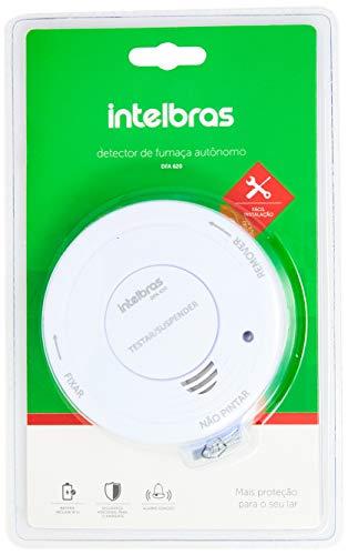 Detector de Fumaça Autônomo, Intelbras, DFA, 620, Bivolt, Branca, Único