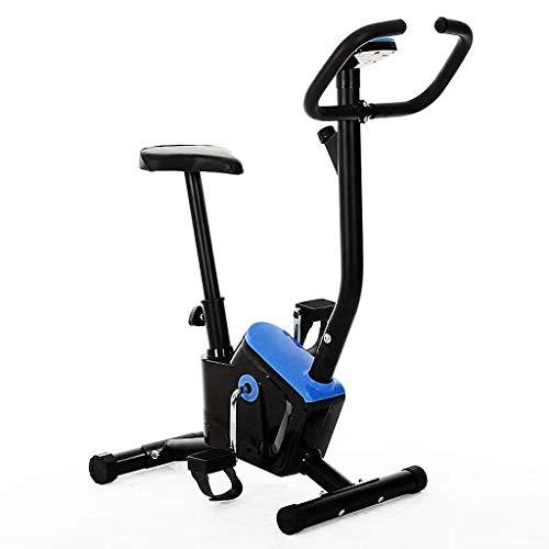 Bicicleta Estática, Bicicleta Estática De Oficina con Cómodo Cojín para El Asiento, Bicicleta De Ciclo Interior para El Hogar Estable, Silenciosa Y Suave para Entrenamiento Cardiovascular En Casa