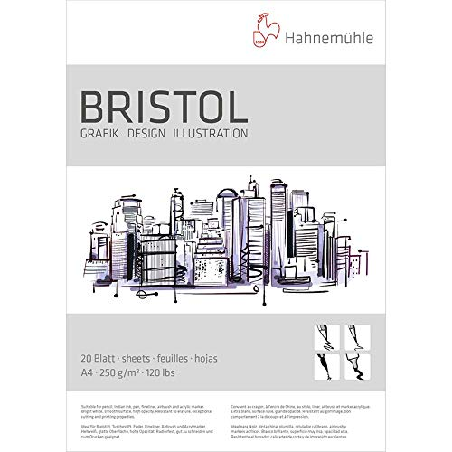 Hahnemühle Bristolkarton A4 250gr.