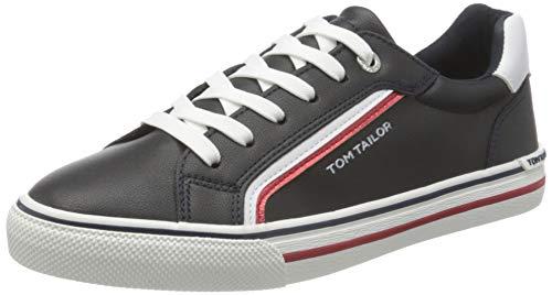 TOM TAILOR Damen 1194201 Sneaker, Navy, 43 EU
