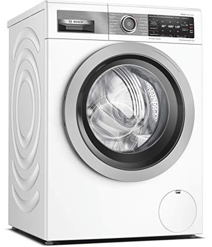 Bosch WAV28G40 HomeProfessional Waschmaschine Frontlader / A+++ / 152 kWh/Jahr / 1400 UpM / 9 kg / Weiß / 4D Wash System / Fleckenautomatik Plus / Home Connect