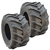 Set Of 2 OTR 22 MAG 22x11x10 4 ply Bar Tread Tire Replaces Grasshopper 482483