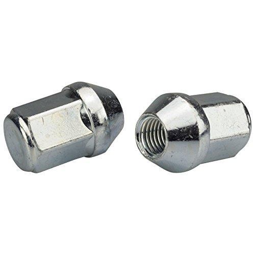 20 dadi per ruota in zinco, M14 x 1,5 x 41, cono 60°, SW19