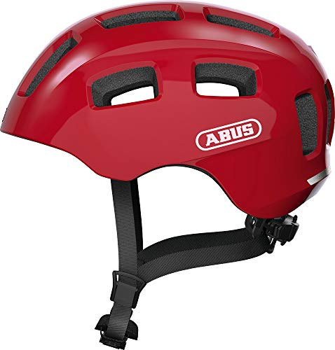 ABUS Youn-I 2.0 Helm Jugend rot Kopfumfang S | 48-54cm 2021 Fahrradhelm