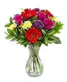 Delivery by Wednesday, June 23rd Everlasting Fling with a Free Glass Vase by Arabella Bouquets