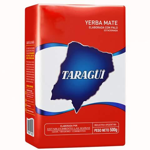 Taragüi 500g - Yerba mate tee mit Stängel - Argentinien