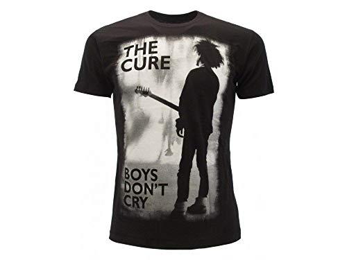 The Cure Camiseta original de manga corta para adulto y niño Negro X-Small