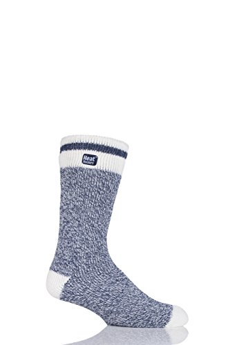 Homme 1 paire heat holders 1.6 tog lite twisted yarn chaussettes