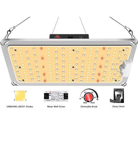 SYLSTAR Lámpara LED para plantas, espectro completo, GL-1000, lámparas LED para plantas...