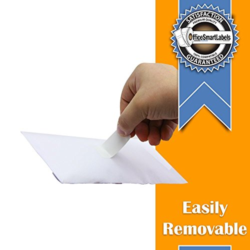 """OfficeSmartLabels - Removable Adhesive - 3/4"""" x 2"""" Multipurpose/Return Blank Address Labels, Compatible with Dymo 30330 for Dymo LabelWriters (12 Rolls - 500 Labels Per Roll) Photo #4"""