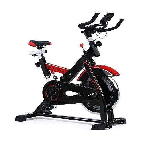 DJDLLZY Bicicletas estáticas, bicicletas de ejercicios cerrados ejercicio aeróbico tranquilo bicicleta de spinning aparatos de ejercicios pedal de bicicleta de ejercicios de pérdida de peso de interio