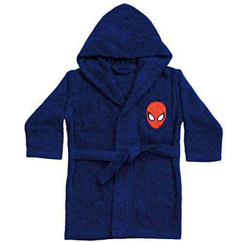 CTI - Marvel - Peignoir Spiderman Peter 6/8 Ans Coton 33 x 25 x 6 cm - 042393